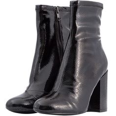 afd3cbd686f3e2 Black Goldie Ankle Boots ( 205) ❤ liked on Polyvore featuring shoes