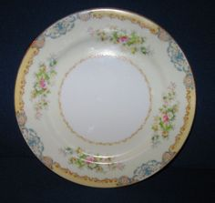 Meito Japan DIANA  Dessert or Salad Plate  JAMES  CHINA  Hand Painted VINTAGE #Meitio