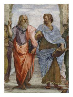 Aristotle and Plato - Raphael