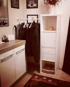 kallax and metod micro wardrobe meubles pinterest garderobe garderobe ikea und schrank. Black Bedroom Furniture Sets. Home Design Ideas