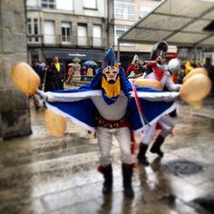 Pantallas de Xinzo. Ourense. Entroido | Carnaval.