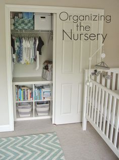 Olive Lane: Organizing the Nursery