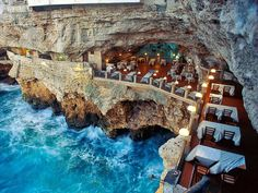 Italy - this would be an amazing place to have a romantic meal with that someone special