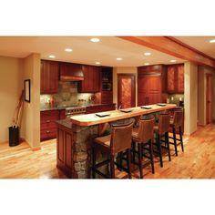 Spanish style homes – Mediterranean Home Decor Rustic Kitchen Cabinets, Kitchen Decor, Kitchen Ideas, Barn Kitchen, Kitchen Floors, Kitchen Inspiration, Kitchen Designs, Half Wall Kitchen, Bar Designs