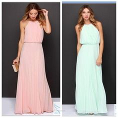 Formal Wear, Formal Dresses, Cocktail, Pleated Maxi, Bridesmaid Dresses, Wedding Dresses, Summer Looks, Party, Fashion Accessories