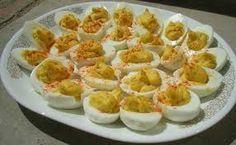 deviled eggs - Annatje