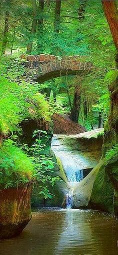Huh?  Is this really Ohio?  I'm there!! Old Man's Cave Gorge - Logan, Ohio