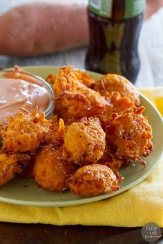 Make your own tots at home! These Sweet Potato Tots are the perfect indulgence - and better for you than the fast food tots!