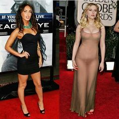 Scarlett Johansson or Megan Fox? @buttsandsquats Follow for more! ➡️ @buttsandsquats