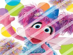Abby Cadabby Edible Cake Topper Frosting 1/4 Sheet Image #15