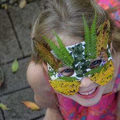 Nature mask printable