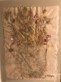 A very unique September Art Display! Joe Ventimiglia, papermaker & oil painter of Setauket, shares his handmade paper w/ dried flower inclusions. ****** Stop by anytime during library hours to view his work.