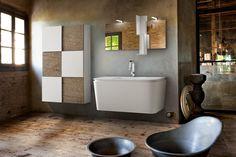 Arredo bagno moderno RC Brera Design materico