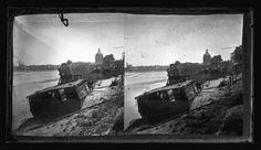 Eugène Trutat (1840-1910): Toulouse. Inondation de 1875. Les lavoirs échoués sur la rive gauche (1875) - 51Fi164 - Fonds Trutat