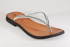 Hey, I found this really awesome Etsy listing at https://www.etsy.com/listing/193444488/black-white-women-sandals-flip-flops