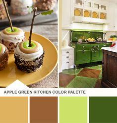 blue and pink kitchen color palette on hgtv's design happens blog