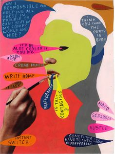 Mind Maps by Artist Martha Rich