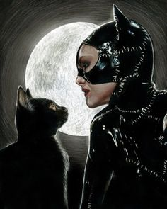 Find images and videos about batman, catwoman and selina kyle on We Heart It - the app to get lost in what you love. Catwoman Comic, Catwoman Cosplay, Batman And Catwoman, Batman Art, Batgirl, Tim Burton Batman, Catwoman Selina Kyle, Michelle Pfeiffer, Nightwing