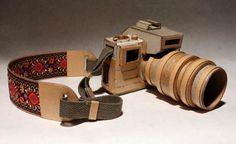 Artista cria máquinas fotográficas de papelão — EcoDesenvolvimento.org: Sustentabilidade, Meio Ambiente, Economia, Sociedade e Mudanças Climáticas