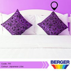 Purple is an attractive colour, because it brings pleasure to the eyes. With purple, there are a lot of ideas that you can come up with, such as a simple bedroom with purple walls. #BergerCaribbean #ColourInspiration #PurpleInspiration #PurpleWall #BedroomInspiration