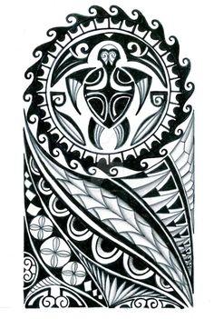 48 Coolest Polynesian Tattoo Designs Brian's