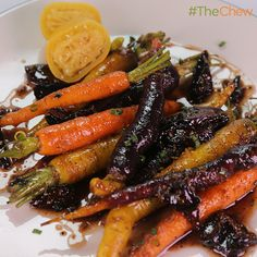 Spice-Scented Carrots and Figs by Michael Lomonaco! #TheChew