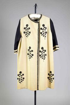 Evening coat | House of Poiret | French | 1924 | silk, synthetic | Brooklyn Museum Costume Collection at The Metropolitan Museum of Art | Accession Number: 2009.300.8212