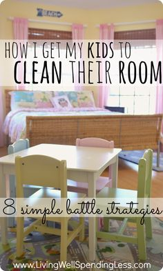 Site with great info.not just for kids cleaning. How I get my kids to clean their room: 8 simple battle strategies. One mom's battle to get her kids to keep their room clean, and the 8 strategies that have worked for her. Chores For Kids, Activities For Kids, Casa Kids, Ideas Habitaciones, Raising Kids, Parenting Hacks, Mindful Parenting, Parenting Goals, Parenting Articles