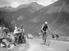 """Gino Bartali, during the Tour de France in the late 30s. Gino Bartali: The cyclist who saved Jews in wartime Italy. As one of the cycling world's biggest races, the Giro d'Italia, begins in Belfast on Friday, more is being learned about the daring activities of one of its former winners in wartime Italy. """"He had everything to lose. His story is one of the most dramatic examples during World War Two of an Italian willing to risk his own life to save the lives of strangers."""" #WorldWarII…"""
