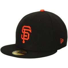 save off 54eaa f948c San Francisco Giants New Era Women s Authentic Collection On-Field 59FIFTY  Fitted Hat - Black