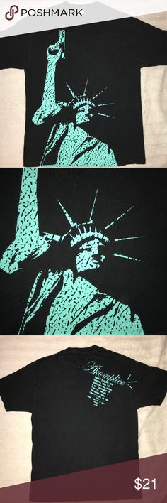 🇺🇸 Akomplice Statue of Liberty America T-Shirt Very unique limited edition shirt - sold out everywhere. In very good condition Akomplice Shirts Tees - Short Sleeve