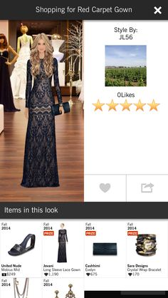 Shopping for a red carpet gown - Covet Fashion Jet Set Event 5 star