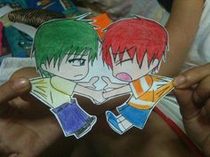 P'nF: Paper Children by ~carmeltheneko on deviantART Chibi Disney, Paper Child, Different Kinds Of Art, Phineas And Ferb, Paper Cutting, Cool Pictures, Character Design, Doodles, Fan Art