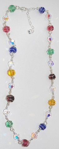 colors of faith necklace idea
