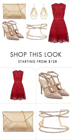 """""""Untitled #473"""" by shoppings9 ❤ liked on Polyvore featuring Elie Saab, Valentino, Vince Camuto and Kara by Kara Ross"""