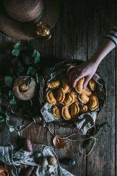 Root Vegetable & Feta Empanadas by Eva Kosmas Flores Feta, Foods That Contain Protein, Healthy Soup Recipes, Savoury Recipes, Root Vegetables, Veggies, Organic Recipes, Food Styling, Food Photography