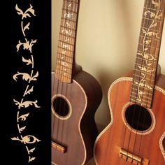 Ukulele Tree of Life (Woody) Fret Markers Inlay Stickers Decals Kala Ukulele, Ukulele Soprano, Ukulele Art, Tenor Ukulele, Ukelele, Guitar Art, Guitar Chords, Banjo, Cheap Guitars