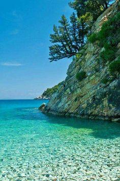 Filiatro, Ithaca island, Ionian Sea, Greece