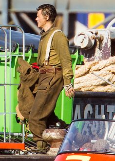 Harry on the set of 'Dunkirk' July 15