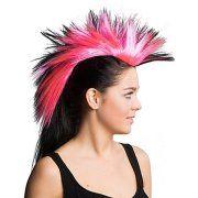 buttinette Angebot Irokesen-Haarteil, pink/schwarzIhr QuickBerater