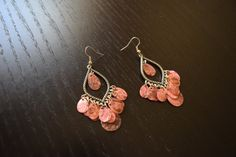 Lovely Violet Peruvian Chandelier Earrings by SassyandCool