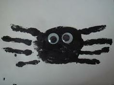 halloween handprint crafts for toddlers - Google Search