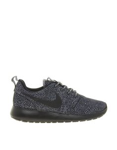 Just brought these :D Nike Rosherun Black and White Printed Trainers