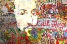 Shakespeare, 2016: Digital painting/photo collage, 60 x 40 cm. Follow the link to buy the hand signed original/unika or print in variable sizes on paper or canvas. http://www.saatchiart.com/art/Painting-SHAKESPEARE/863412/2941856/view