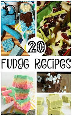 Fabulous Fudge Recipes for the Whole Family - a collection of 20 delicious recipes!