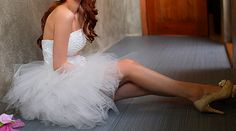 """If I ever renew my vows - this is the dress I wanna do it in. Can you say, """"FUN!"""" ??"""