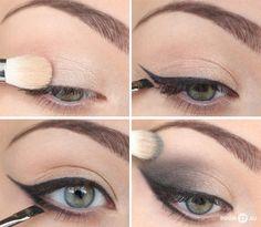 Cat Eye - Eye Makeup Application