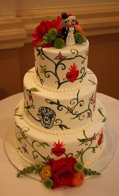 Google Image Result for http://bridalbar.squarespace.com/storage/day%2520of%2520the%2520dead%2520cake.jpg%3F__SQUARESPACE_CACHEVERSION%3D1287265517913