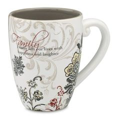 Amazon.com: Pavilion Mark My Words Family Mug, 17-Ounce, 4-3/4-Inch: Kitchen & Dining