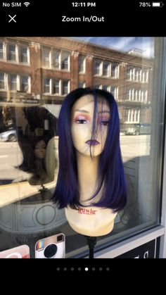 Malaysia – Tess Wigs Look Short, Hot Tools, Blue Streaks, Beyonce, Mists, Halloween Face Makeup, Curly, Sexy, Hair